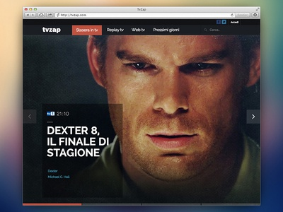 Website Homepage website homepage large photo big photo photo slider transparency webdesign home