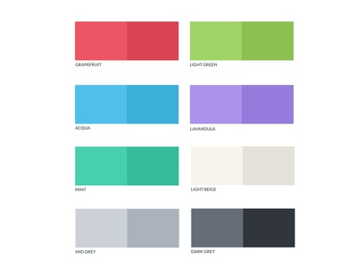 Colors Palette colors palette color palette color flat flat colors