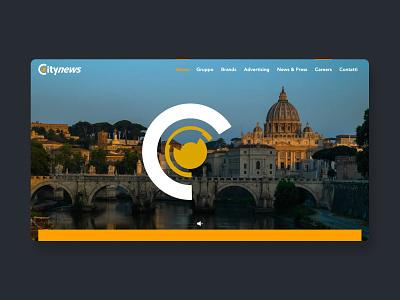 Video Tease hero video clean web webdesign website