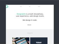 Designabile New Homepage