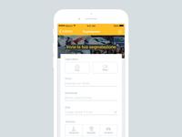 Mobile App Form