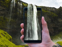 Waterfalls waterfalls device photo montage photo manipulation photo