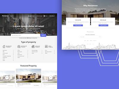 Megamove listing property slider realestate landing page website