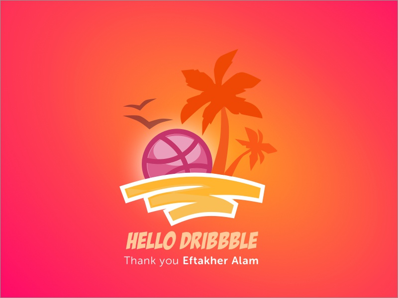 Thank you Dribbble beach goa dribbble. web