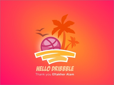 Thank you Dribbble beach goa dribbble. web
