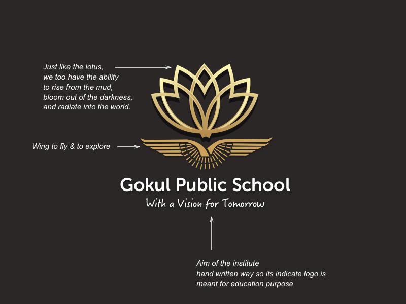 School Logo (Day2) research logo branding school dribbble. logo