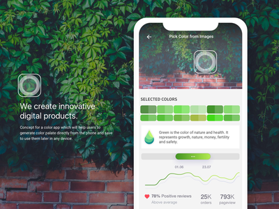 Color App Tiny Concept color-concept goa android dribbble. app
