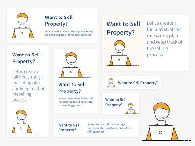 property seller invites sketch animation dribbble. web design illustration landing page