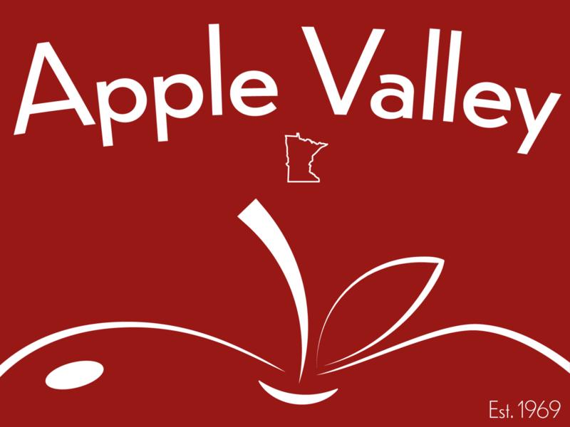 Apple Valley, MN Sticker