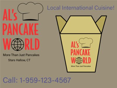 Gilmore Girls Al's Pancake World Concept concept design gilmore girls branding logo weeklywarmup