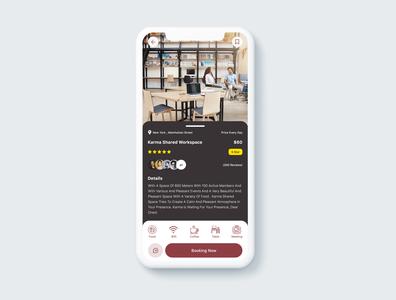 coworking space app coworkingspace app designwich design ux ui