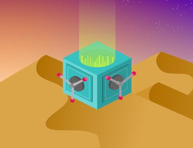 dunes isometric dunes