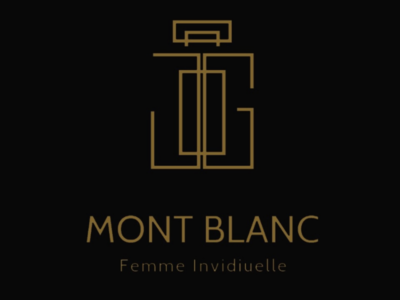 Remaking a logo for Mont Blanc Perfume Products perfume logo design graphics