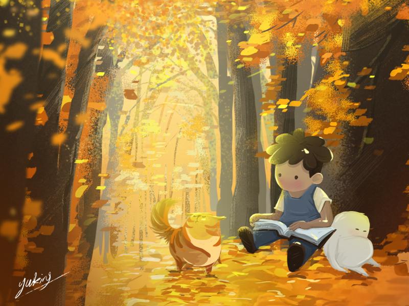 About peace festival season winter autumn peace summer cat ps boy illustration