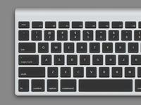 Dark Apple Keyboard in CSS
