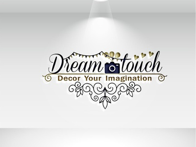 Unique luxuries designs logo drawing typography nameplate logo icon art design