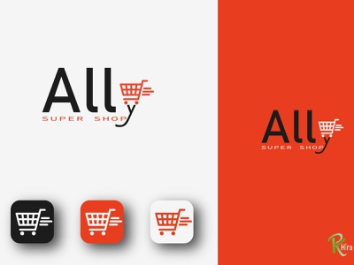 flat minimalist logo typography logo icon art design