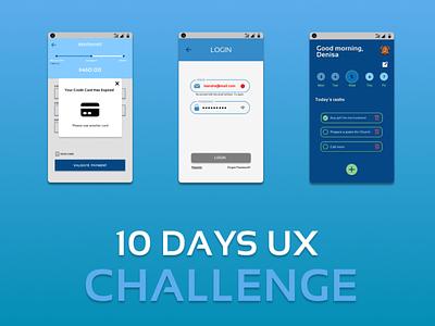 10 DAYS UX THUMBNAIL clean ui simple design uiuxdesign uidesign ux thumbnail design