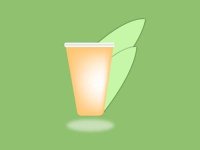 Product design. food drink service