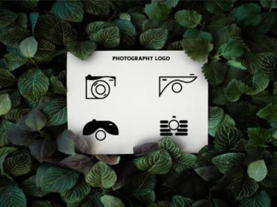 Photography logo kit. logo camera