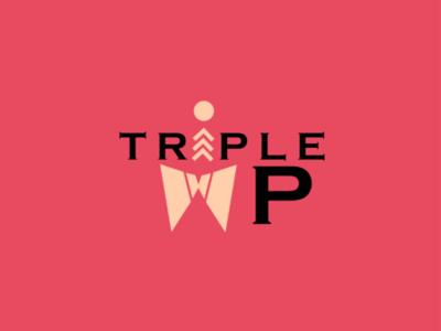Logo for TRIPLE WP. logo