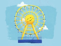NE State Fair Ferris Wheel