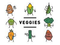 The VEGGIES