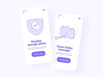 Funky Elements in Use 😍🔥 download free resources mobile interface design app vector colorful ui set illustration kapustin