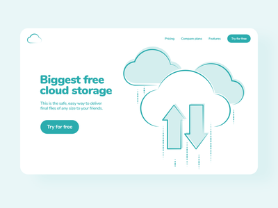 Funky Elements in Use 😍🔥 cloud storage interface resources design app vector colorful set illustration kapustin