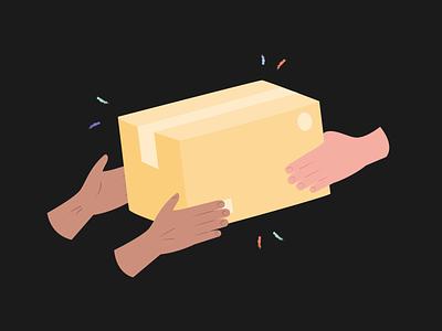 Hands Illustrations 👌🤙🤞 package delivery skin hands resources pack design colorful vector set illustration kapustin