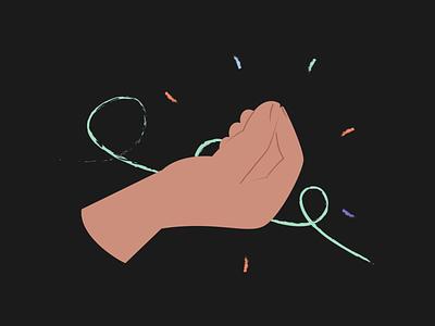 Hands Illustrations 👌🤙🤞 italic flat resources design colorful vector set illustration kapustin