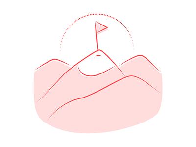Funky Elements illustrations ✨ finish trophy duotone outline linear resources design colorful vector set illustration kapustin