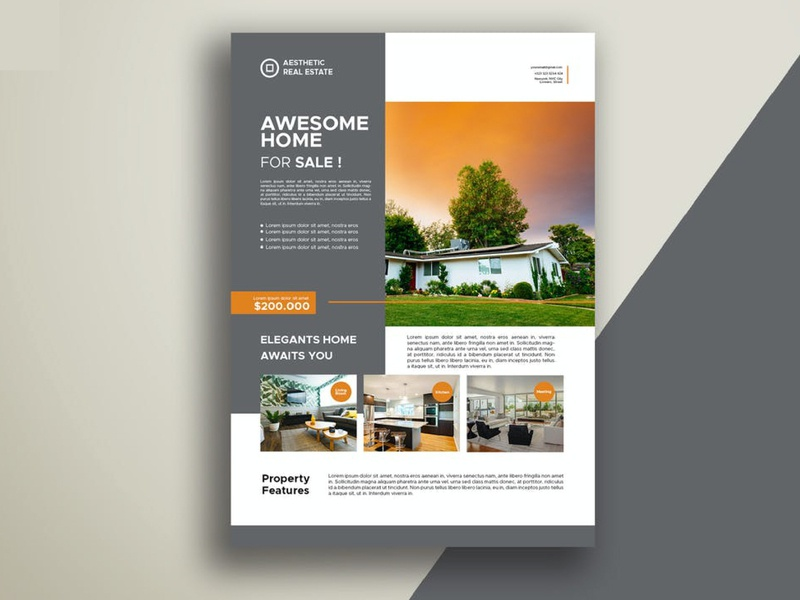 property flyer corporate flyer business flyer property flyer banner design flyer design