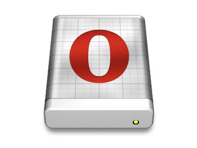 Opera Next *.dmg icon opera mac