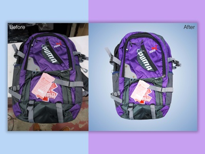 Product Photo Retouching for E-commerce Store backpack retouching travel photo bags backpack promotional design online business online store online shop clipping path background removal adobe photoshop image retouching image editing ecommerce design ecommerce photo editing services photo editing