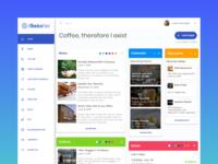Intranet color picker widgets management intranet ux ui dashboard