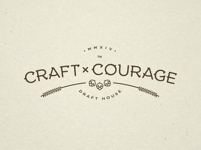 Craft & Courage Logo Progress