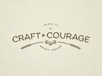 Craft & Courage Logo Progress