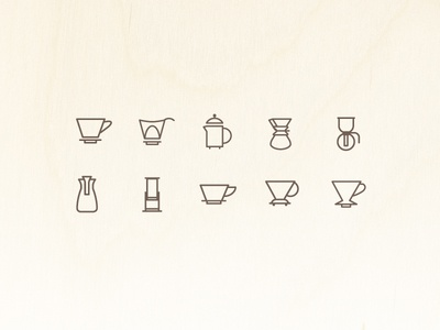 Brew Device Icons