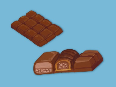 Chocolate Illustrations