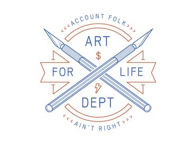 ART DEPT FOR LIFE