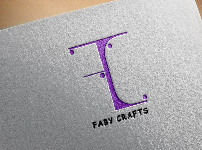faby crafts Logo branding illustration logodesign logo