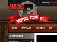 Circle E Western Store - Logo Effects