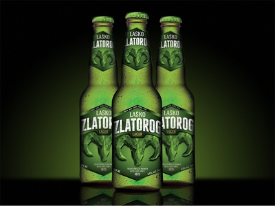 Lasko Zlatorog Beer