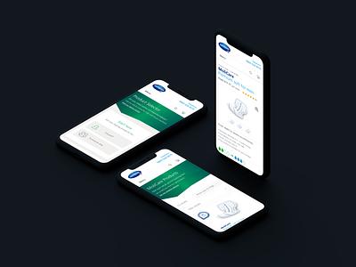 Hartmann Direct e-commerce responsive ios ecommerce mobile ui ux designer ui