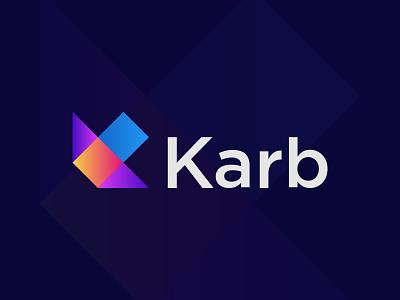 Modern K Letter Logo Design k icon k app icons letter k logo k monogram karb logo k letter logo logo design logodesigner logo logodesign abstract logo logotype modernlogo creative logo logomaker logo design concept