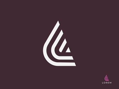 L Monogram monogram logo monogram logotypes branding lettermark logodesigner logo logomaker modernlogo creative logo logotype logo design concept