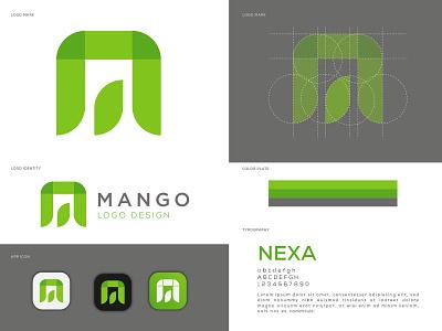 M Letter Logo Mark logo design mango lettering letter m lettermark logos logodesign logodesigner abstract logo creative logo modernlogo logotype logomaker logo design concept