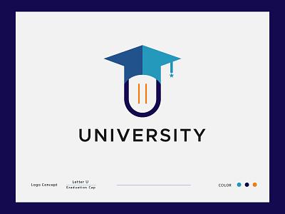 UNIVERSITY LOGO CONCEPT logo mark logo type logoconcept modern logo mobile app graphicdesign university logo u letter logo abstract logo lettermark branding logodesign logodesigner modernlogo logomaker creative logo logotype logo design concept