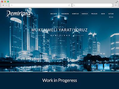 Demirland demirland website interface